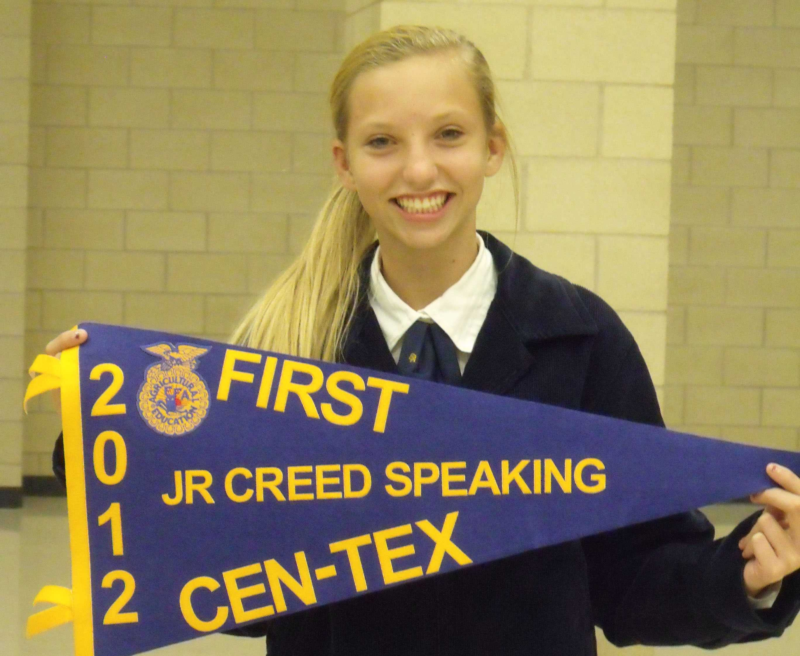 Senior Ffa Creed Speaking