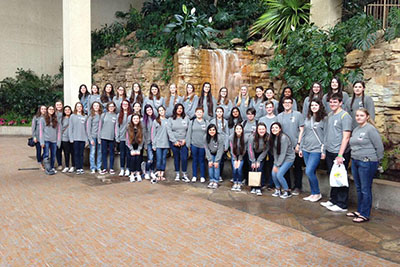 Choir performs at SWACDA Convention