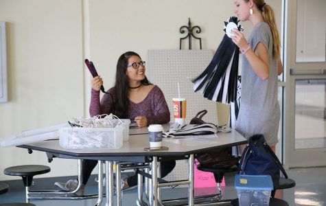 Students prepare for homecoming next week