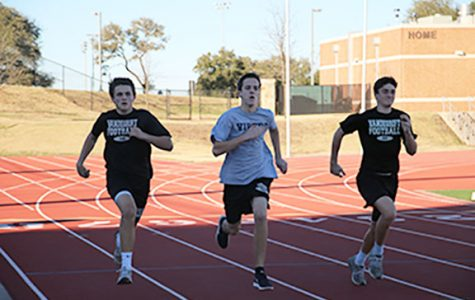 Track prepares for upcoming meet on Feb. 18