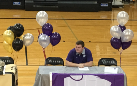 Three Viper football players sign National Letters of Intent