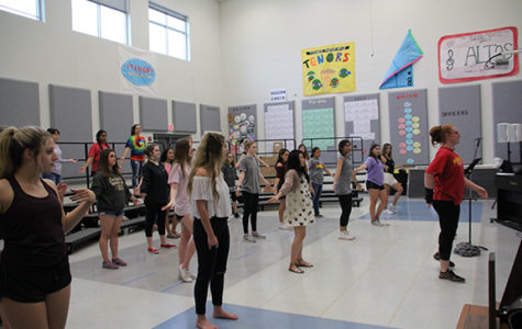 Choir begins rehearsals for spring show