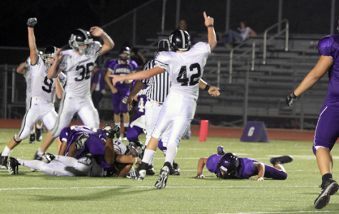 At the game against Boerne, the varsity football team capitalized on Greyhound errors to come out on top.