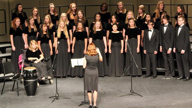 Choir Program Hard At Work