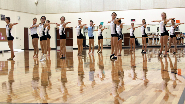The Legacies prepare for Saturday's iDance performace.