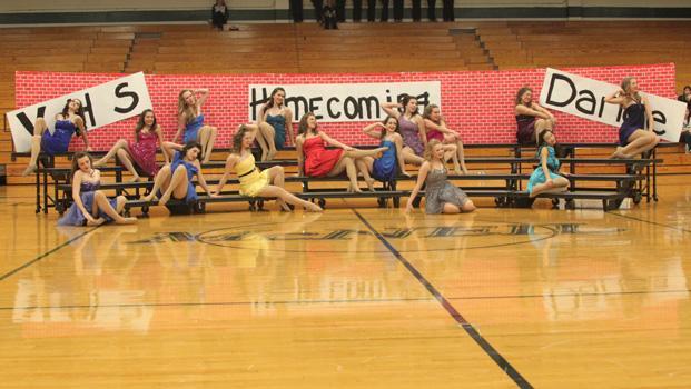 The Legacies dance their novelty routine. photo by Glenda Radtke