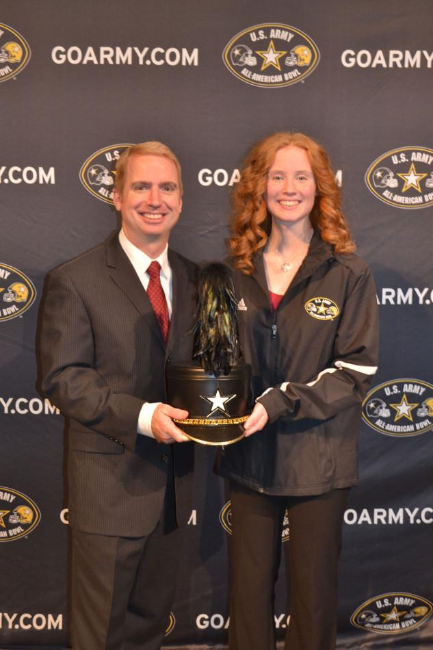 Piccolo player to perform with U.S. Army All-American Band