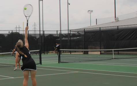 Undefeated tennis team enters district tournament on Tuesday