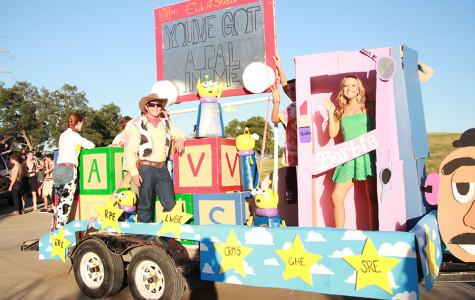 Homecoming Float Success