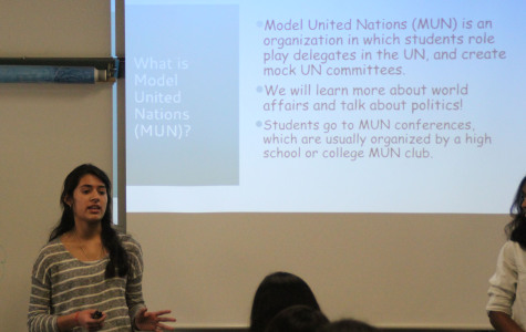 Student brings Model United Nations to Vandegrift