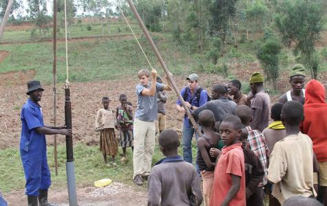 Greyson Witt travels to Rwanda, builds waterwells