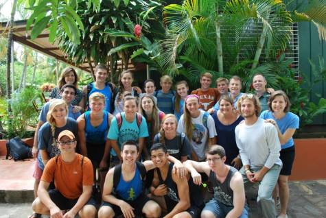 A group of students traveled to Nicaragua over the summer on a mission trip. They recently started a new club, Nickels for Nicaragua to continue trying to help the country.