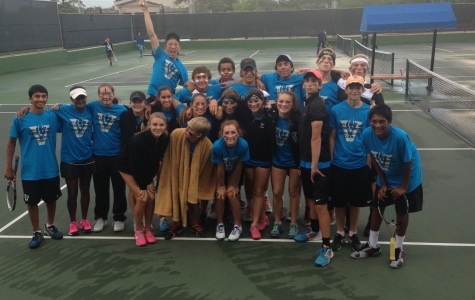 Tennis's takes third place