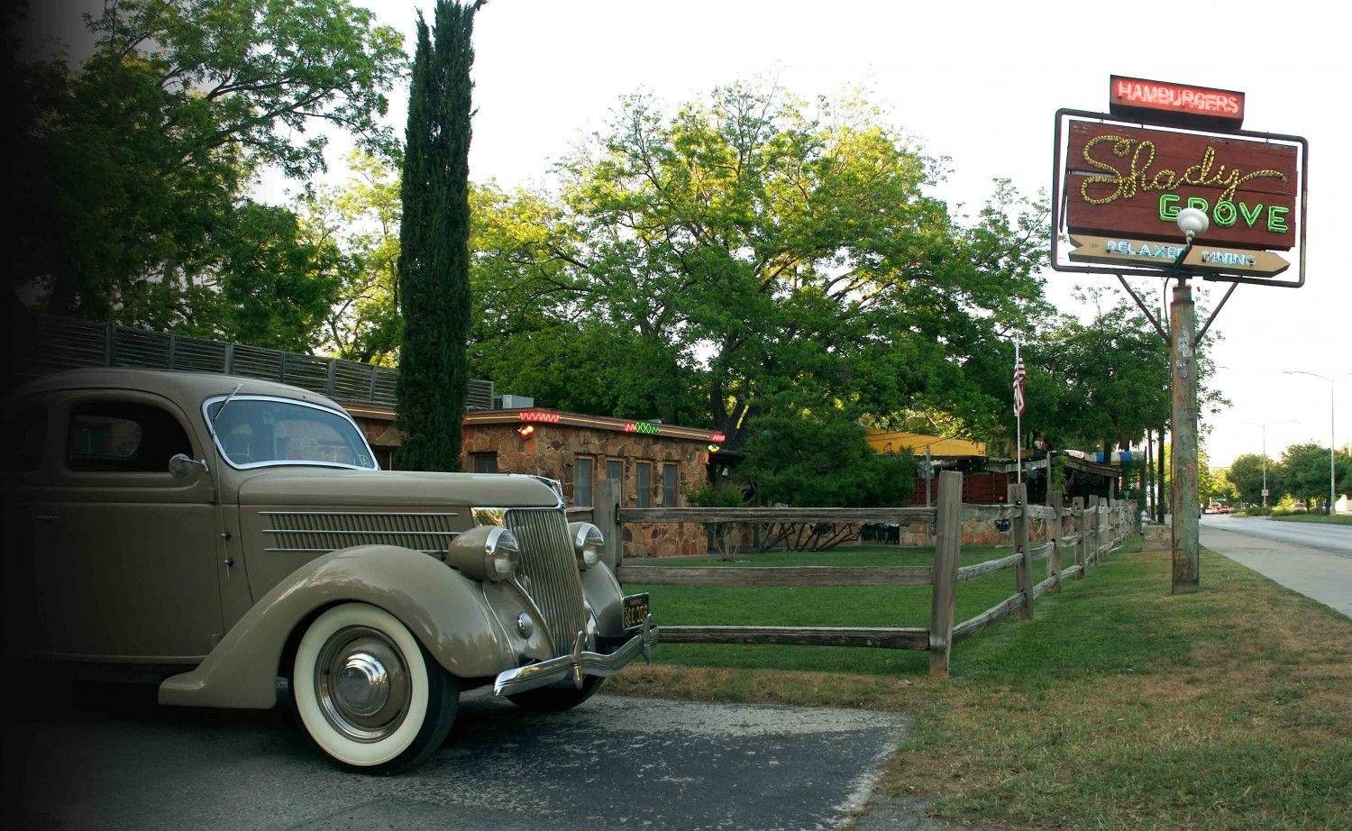 Shady Grove Restaurant  Barton Springs Road Austin, Texas