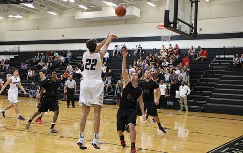 Vandegrift shoots and scores at their season opening game