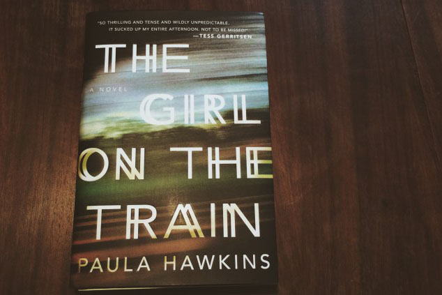 This book is off the tracks: Girl on a Train
