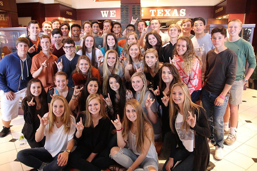 DECA+field+trip+to+the+University+of+Texas
