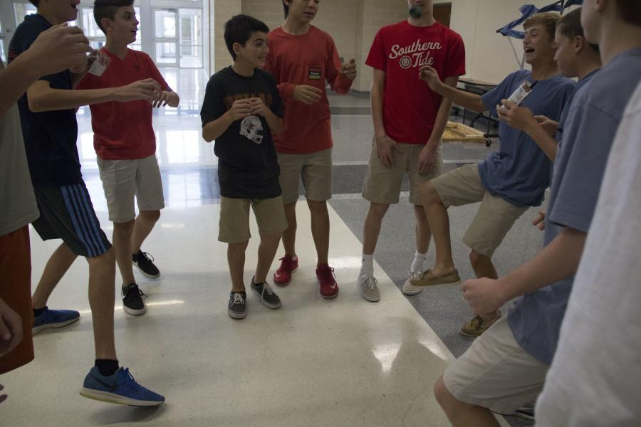 Hacky sack: the age old game is reborn
