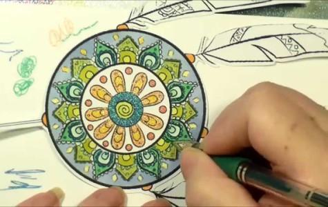Adult coloring books gain popularity