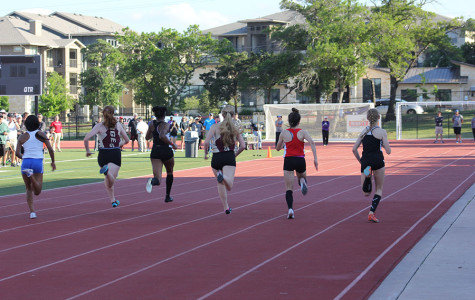 Track competes in preliminaries and finals