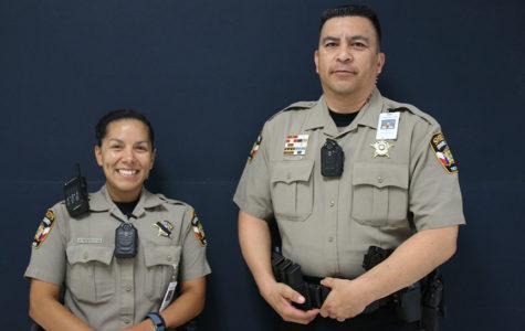 Deputy Erica Peters and Deputy Javier Hernandez will be serving as Vandegrift's School Resource Officers starting this year.