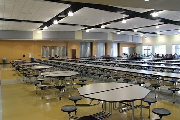 Vandegrift HS Cafeteria