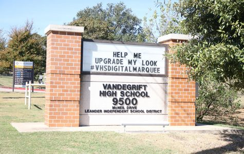 VHS digital marquee fundraising