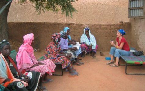 Human Geo teacher works with Peace Corps