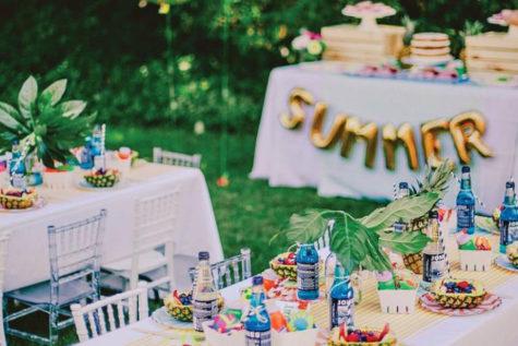 Five hacks to make summer parties easier