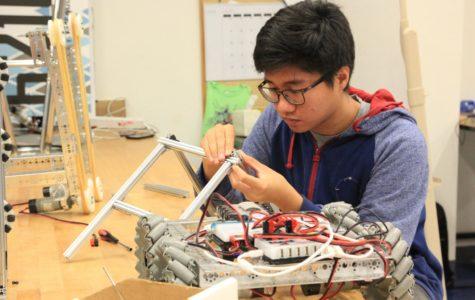 Robotics FTC qualifier