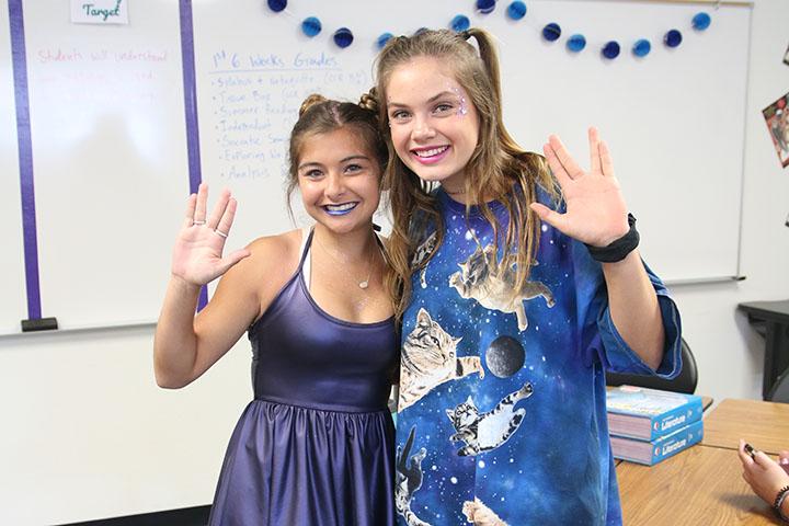 Student Council Sponsors Theme Days