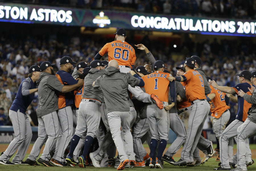 Astros win 2017 World Series