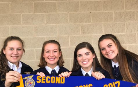 FFA Public Relations Team Continues To State