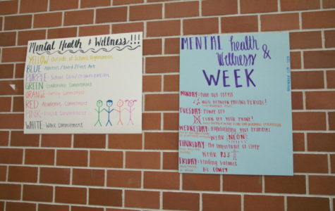 Mental health and wellness week raises awareness