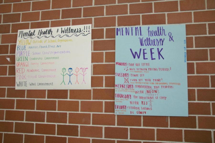 Mental health and wellness week raises awareness
