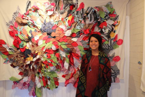 Local art teacher featured in downtown Austin art exhibit