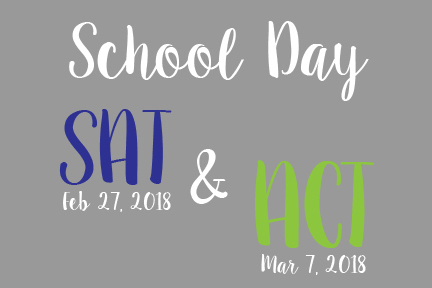 Registration opens for school day SAT and ACT this spring