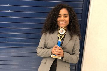 Student wins debate competition