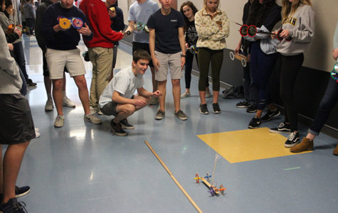 Upperclassmen present mousetrap cars