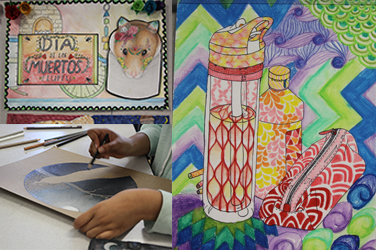 Students prepare for VASE art competition