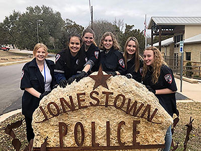 My COOL Week experience at the Jonestown Police Department