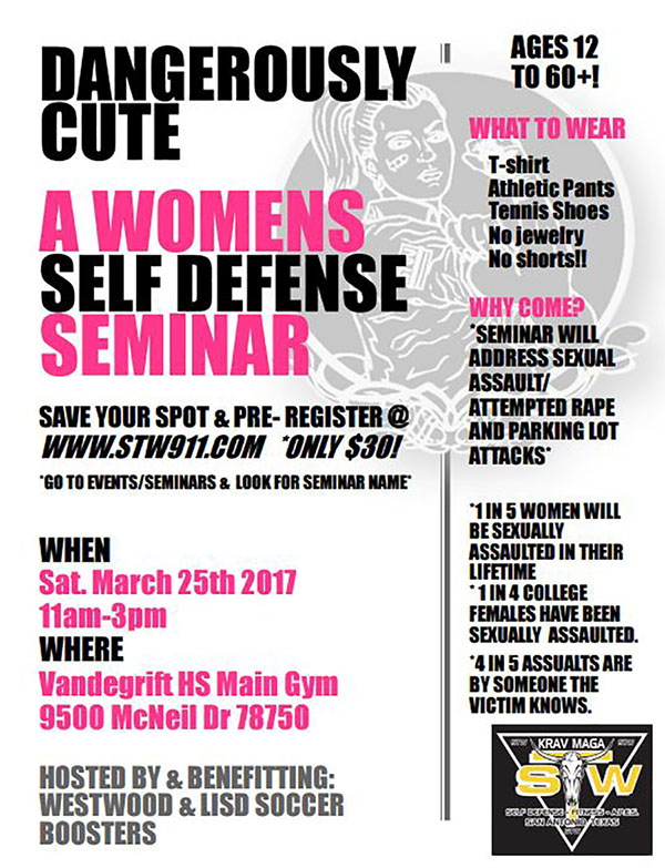 Dangerously cute self defense comes to Vandegrift