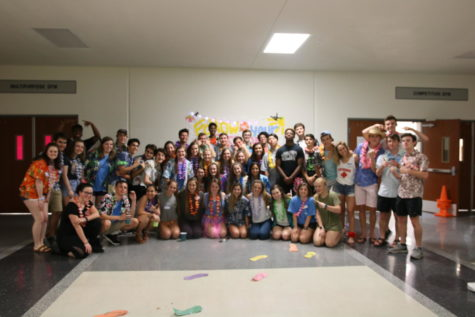 C-Squared holds Hawaiian themed lock-in after school