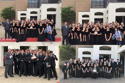 Choir wins sweepstakes at UIL