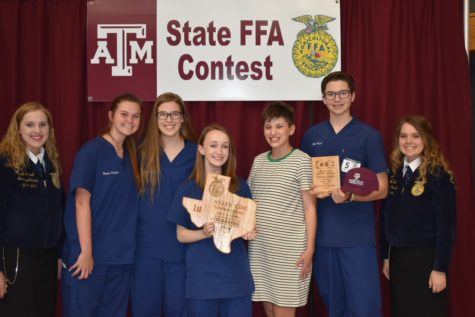 FFA places first at state competition