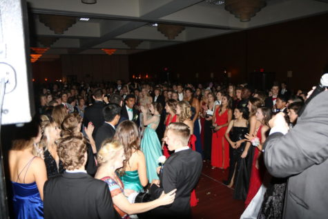 Upperclassmen celebrate end of school year at prom