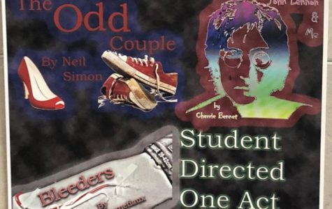 Chosen students direct one-act plays