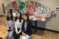 Art students participate in sculpture contest