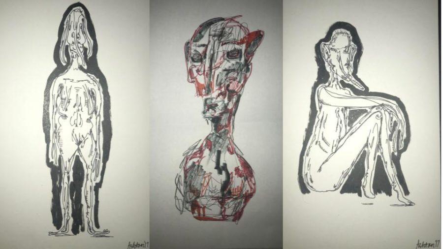 Junior+composes+artwork+to+show+at+exhibit