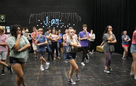 Theatre begins fall musical rehearsal